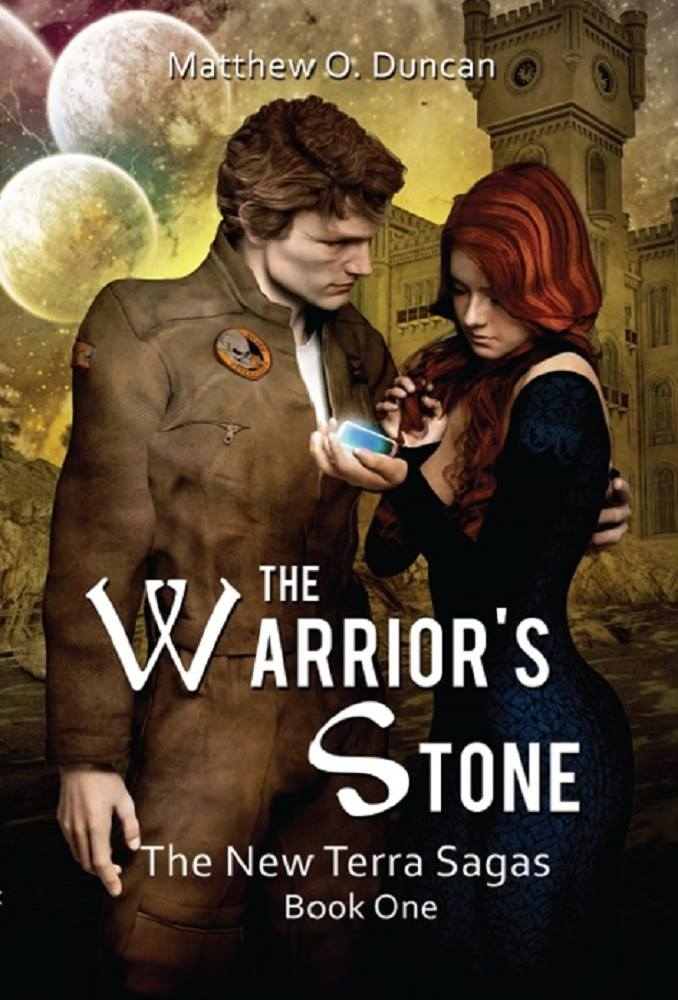 The cover of The Warrior's Stone